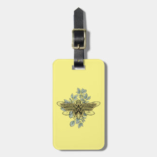 Wonder Woman Queen Bee Logo Bag Tag