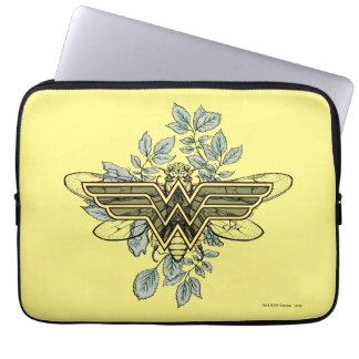 Wonder Woman Queen Bee Logo Laptop Computer Sleeves