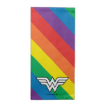 Wonder Woman Rainbow Logo Cloth Napkin
