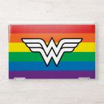 Wonder Woman Rainbow Logo HP Laptop Skin