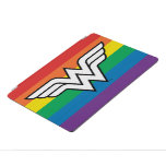 Wonder Woman Rainbow Logo iPad Pro Cover