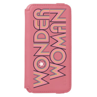 Wonder Woman Rainbow Logo iPhone 6/6s Wallet Case