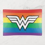 Wonder Woman Rainbow Logo Trinket Trays