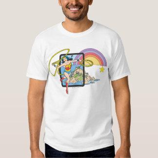 Wonder Woman Rainbow Tshirt
