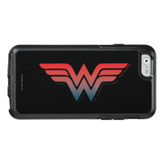 Wonder Woman Red Blue Gradient Logo OtterBox iPhone 6/6s Case