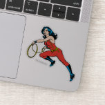 Wonder Woman Red Outfit Sticker