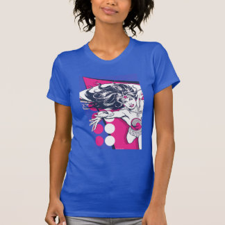Wonder Woman Retro Glam Character Art T-Shirt
