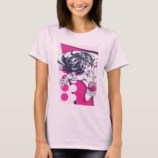 Wonder Woman Retro Glam Character Art T-Shirt