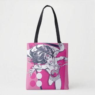 Wonder Woman Retro Glam Character Art Tote Bag