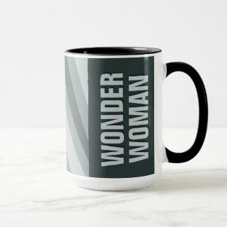 Wonder Woman Retro Profile Sunburst Mug