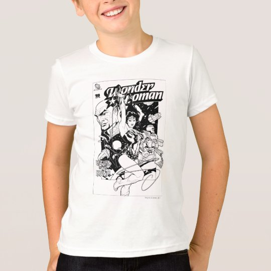 Wonder Woman Return of the Khundi B&W T-Shirt