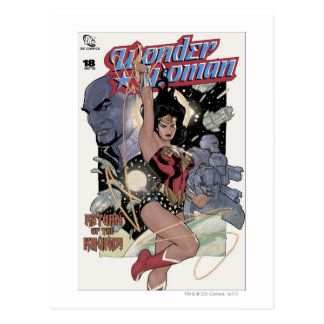 Wonder Woman Return of the Khundi Color Postcard