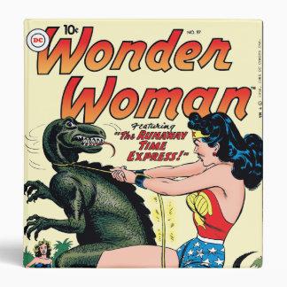 Wonder Woman Runaway Time Express Binder