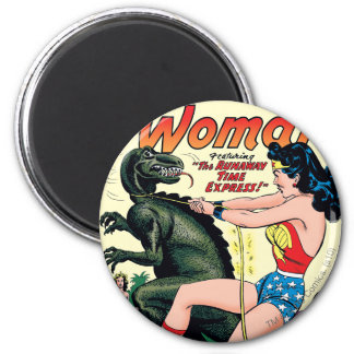 Wonder Woman Runaway Time Express Magnet