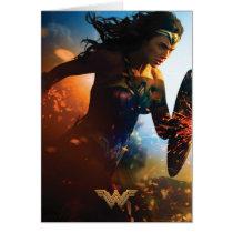 Wonder Woman Running on Battlefield
