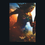 "Wonder Woman Running on Battlefield Canvas Print<br><div class=""desc"">Check out this iconic Wonder Woman movie poster art of Wonder Woman running through the battlefields,  sparks of ricocheted bullets and explosions seen all around.</div>"