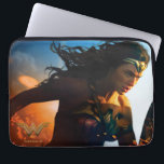 "Wonder Woman Running on Battlefield Laptop Sleeve<br><div class=""desc"">Check out this iconic Wonder Woman movie poster art of Wonder Woman running through the battlefields,  sparks of ricocheted bullets and explosions seen all around.</div>"