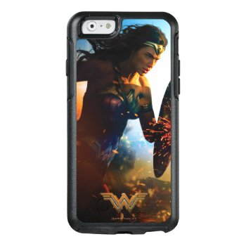 Wonder Woman Running On Battlefield Otterbox Iphone 6/6s Case by wonderwoman at Zazzle