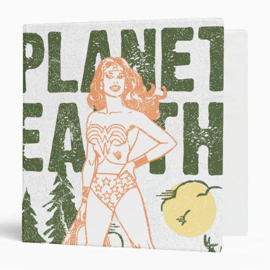 Wonder Woman Save Planet Earth 3 Ring Binder