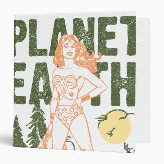 Wonder Woman Save Planet Earth Vinyl Binders