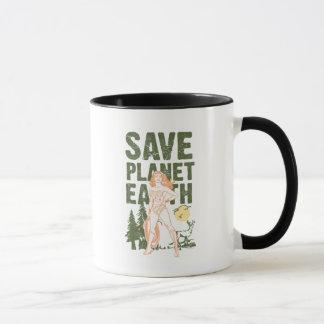 Wonder Woman Save Planet Earth Mug