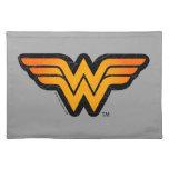 Wonder Woman | Seasonally Inspired Logo Cloth Placemat
