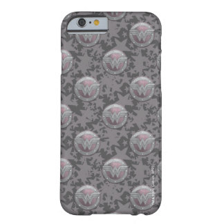 Wonder Woman Shield Pattern Barely There iPhone 6 Case