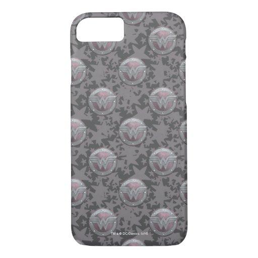 Wonder Woman Shield Pattern iPhone 8/7 Case