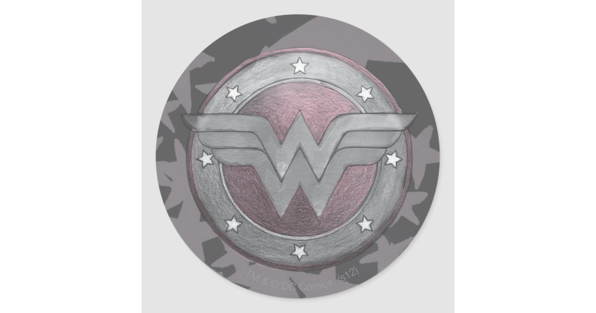 how to make wonder woman shield