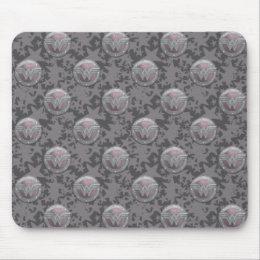 Wonder Woman Shield Pattern Mouse Pad