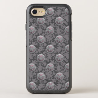 Wonder Woman Shield Pattern OtterBox Symmetry iPhone 8/7 Case