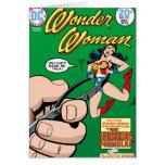 Wonder Woman Shrinking Formula Greeting Card