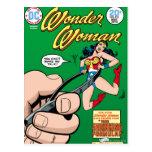 Wonder Woman Shrinking Formula Postcard