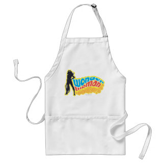 Wonder Woman Silhouette Adult Apron
