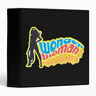 Wonder Woman Silhouette Vinyl Binders