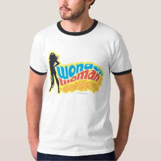 Wonder Woman Silhouette T Shirt