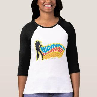 Wonder Woman Silhouette Tee Shirt