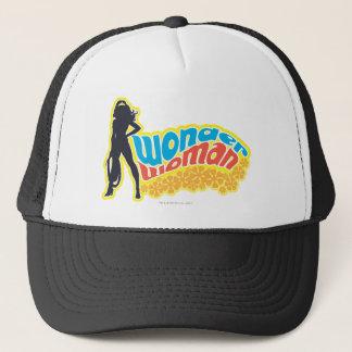 Wonder Woman Silhouette Trucker Hat