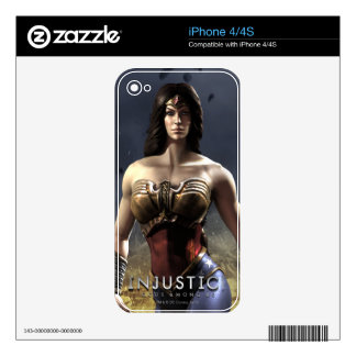 Wonder Woman Skin For The iPhone 4