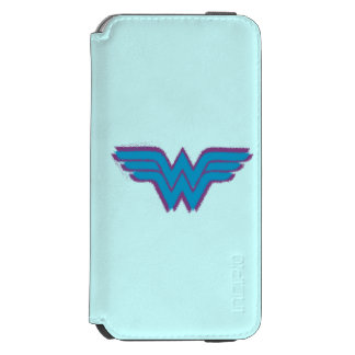 Wonder Woman Spray Paint Logo iPhone 6/6s Wallet Case
