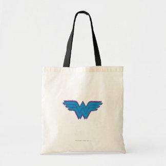 Wonder Woman Spray Paint Logo Tote Bag