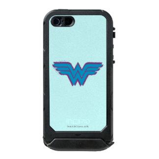 Wonder Woman Spray Paint Logo Waterproof Case For iPhone SE/5/5s