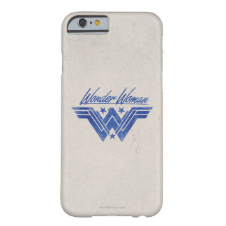 Wonder Woman Stacked Stars Symbol Barely There iPhone 6 Case