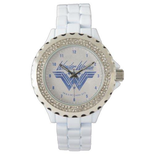 Wonder Woman Stacked Stars Symbol Wristwatch