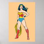 Wonder Woman Standing Poster