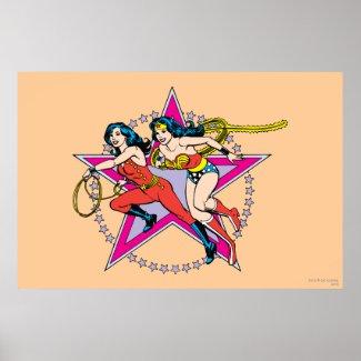 Wonder Woman Star Background