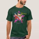 Wonder Woman Star Background T-Shirt