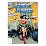 Wonder Woman Starring Pat Carbine Greeting Cards