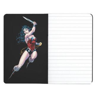 Wonder Woman Swinging Sword Journal