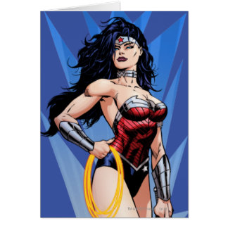 Wonder Woman & Sword Card